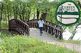 The Green Circle include 30-miles of biking and hiking trails.