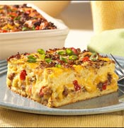 June 2006 Recipe of the Month - Egg Sausage Strata